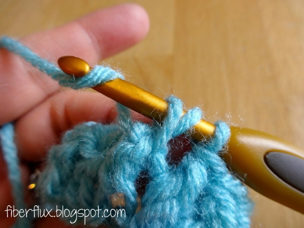 front post double crochet stitch