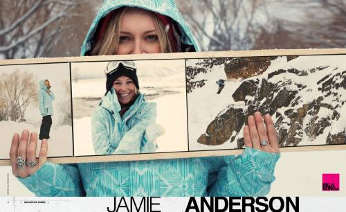Post image for X Games Snowboarder Jamie Anderson Crochets