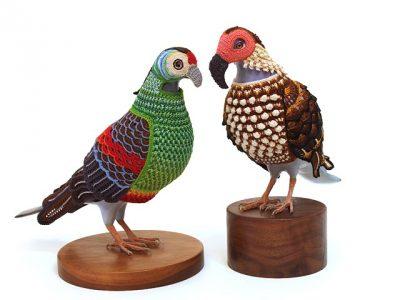 laurel roth crochet pigeons 400x300 laurel roth crochet pigeons