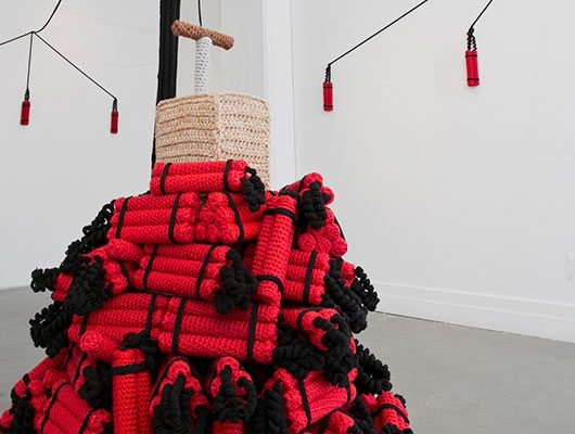 nathan vincent crochet art
