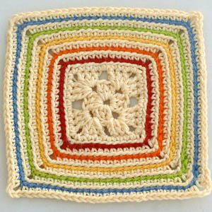 rainbow crochet square SONY DSC