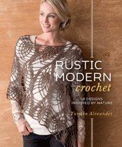 rustic modern crochet book