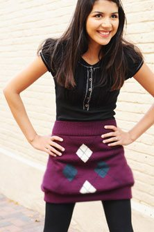 upcycled sweater skirt upcycled sweater skirt