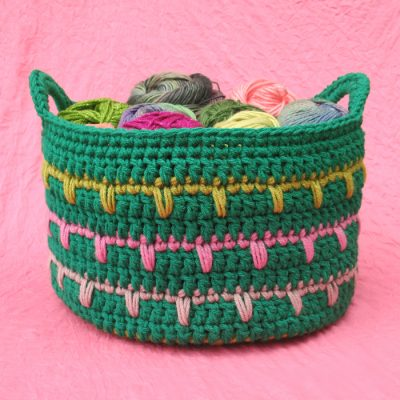 crochet basket pattern 400x400 crochet basket pattern