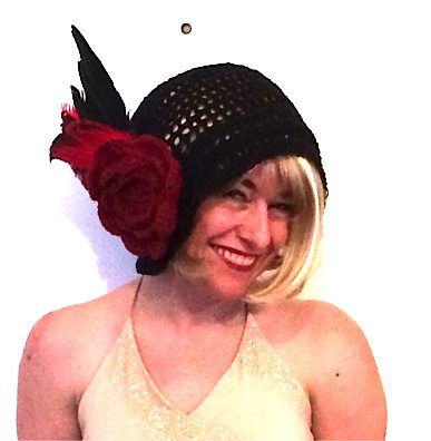 Post image for The Crochet Hat I Wore to The Speakeasy