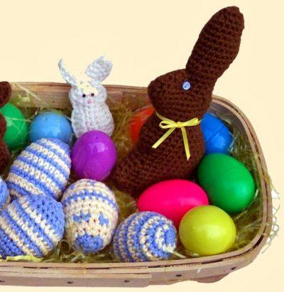 crochet easter bunny 400x411 crochet easter bunny