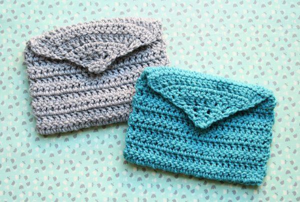 crochet envelopes