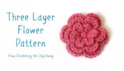 crochet flower pattern 400x231 crochet flower pattern
