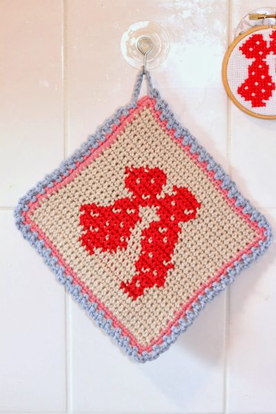 Crochet Kiss Free Pattern via A_La_Sascha