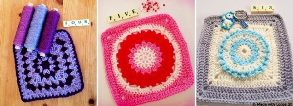 crochet mood blanket squares 600x217 Link Love for Best Crochet Patterns, Ideas and News
