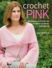 crochet pink book