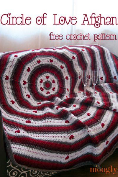 free crochet valentines afghan pattern 400x600 free crochet valentines afghan pattern