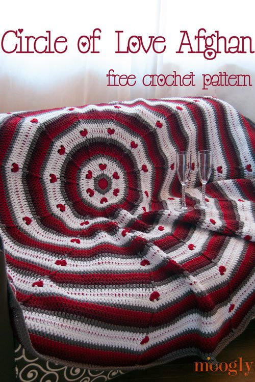 free crochet valentines afghan pattern Best Crochet Patterns, Ideas and News (Link Love)