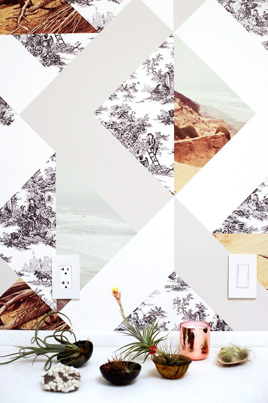 suzanne-collage-kitchen-wallpaper