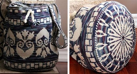 tapestry crochet bag Best Crochet Patterns, Ideas and News (Link Love)
