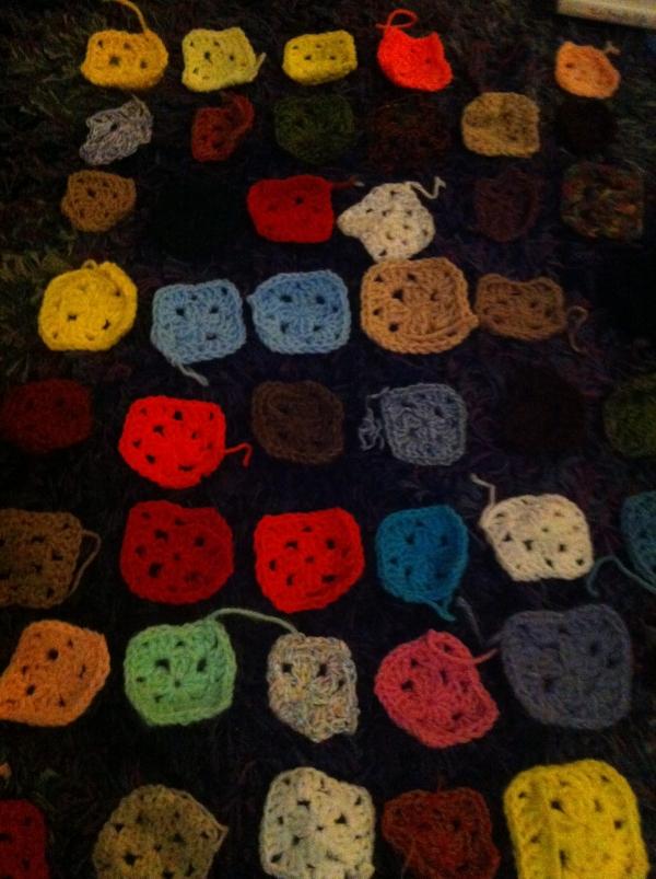 large granny squares