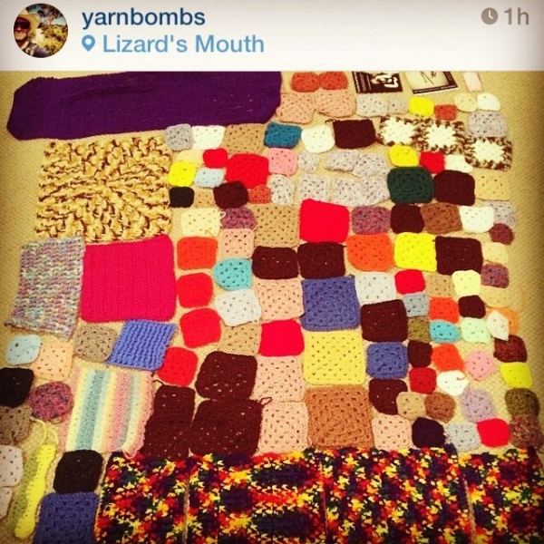 yarnbomb donation