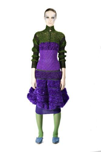 Indra Dovydėnaitė crochet fashion Crochet Artwear by Indra Dovydėnaitė