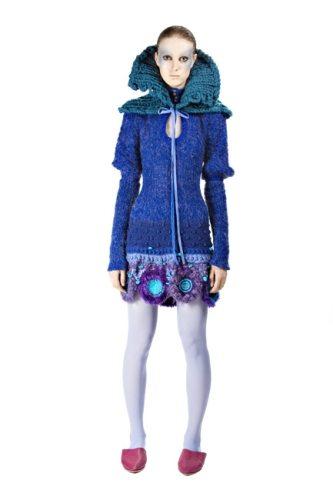 Indra Dovydėnaitė crochet Crochet Artwear by Indra Dovydėnaitė