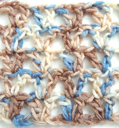 VStitchRows How to Crochet V Stitch
