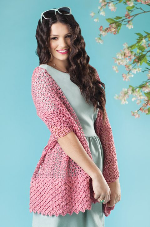 15 Beautiful Cherry Blossom Crochet Patterns