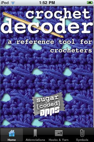 crochet decoder app (Updated) 25 Yarn and Crochet Apps   PART ONE