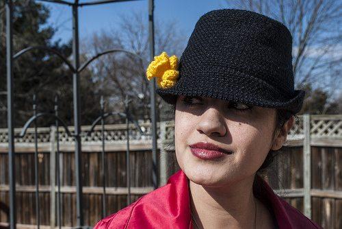 Crochet Fedora Hat Free Pattern