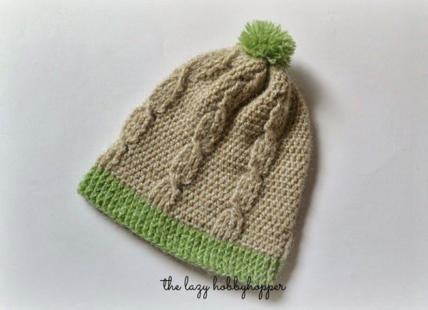crochet cable hat free pattern