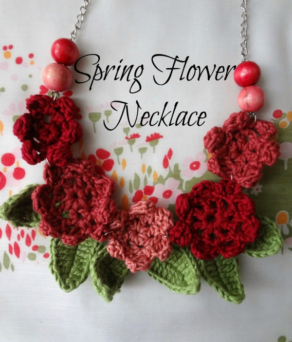 crochet necklace pattern 600x702 20+ Best 2014 Crochet Accessories Patterns