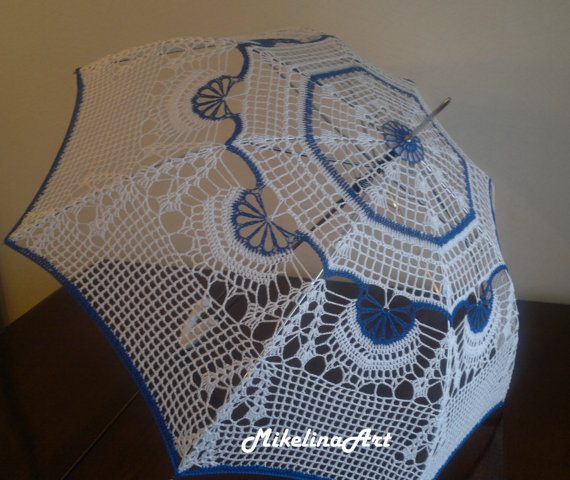 crochet umbrella 15+ Fresh New Crochet Umbrellas for Your Rainy Days