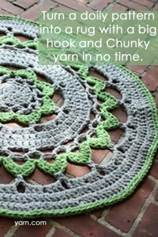doily rug Link Love for Best Crochet Patterns, Ideas and News