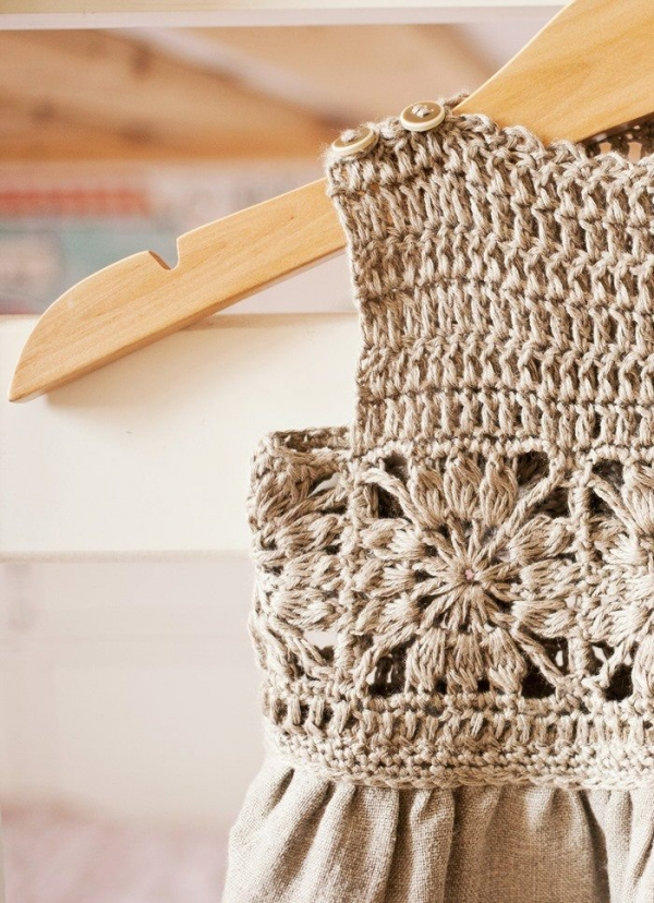 granny square crochet dress pattern