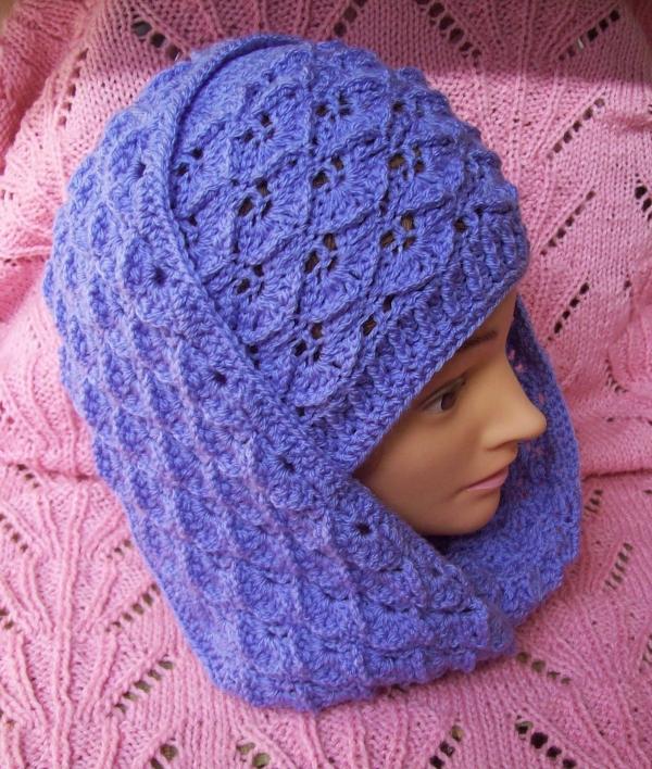 infinity cowl free crochet pattern