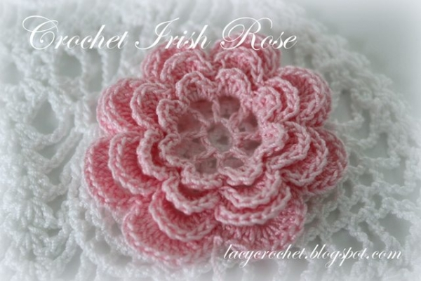 irish rose crochet pattern 600x400 Link Love for Best Crochet Patterns, Art, Ideas and News
