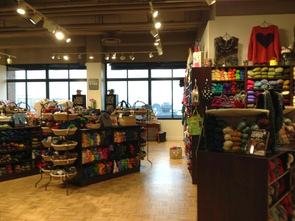 seattle yarn store 600x450 Link Love for Best Crochet Patterns, Ideas and News
