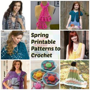 spring crochet patterns Roundups of Beautiful Spring Crochet Patterns