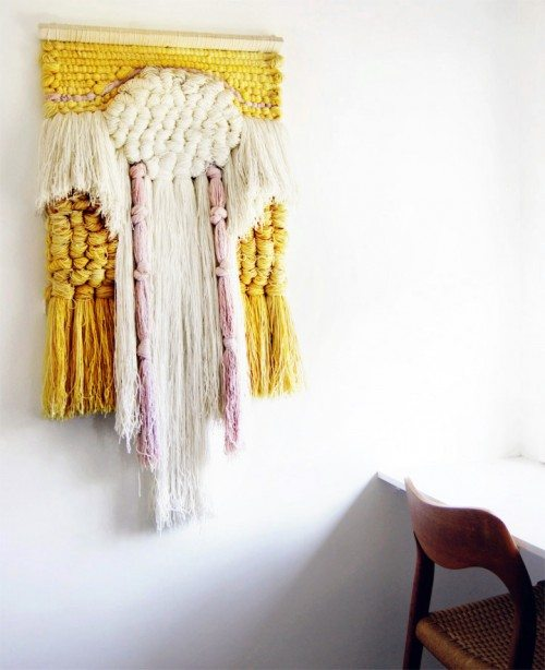 woven wall hangings Link Love for Best Crochet Patterns, Art, Ideas and News