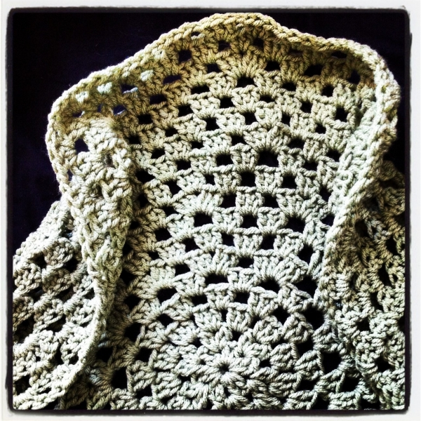 instagram crochet shrug
