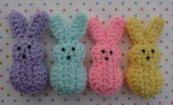 Peeps1 medium2 600x365 Easter Crochet: Peeps!