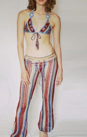 Anna Kosturova Crochet Swimwear