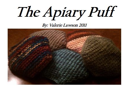 apiary puff crochet blanket