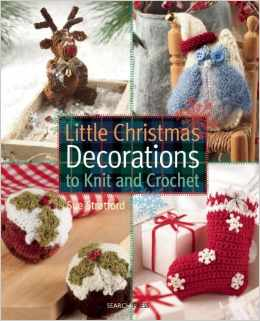 christmas crochet book
