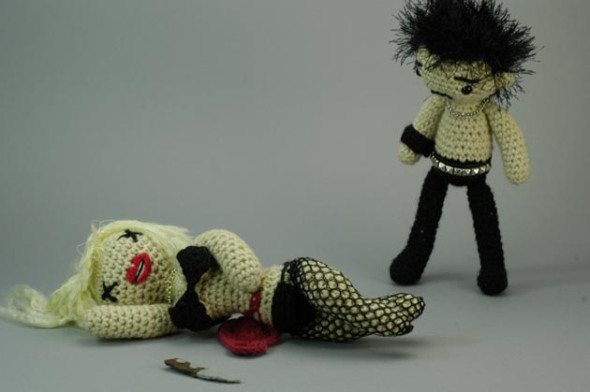 crochet art dolls