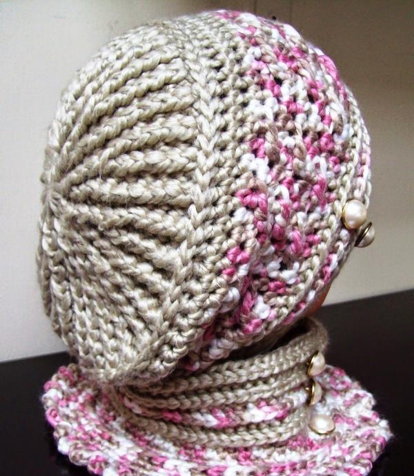 Free crochet beret hat pattern