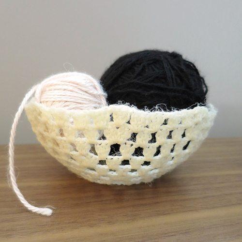 crochet bowls pattern