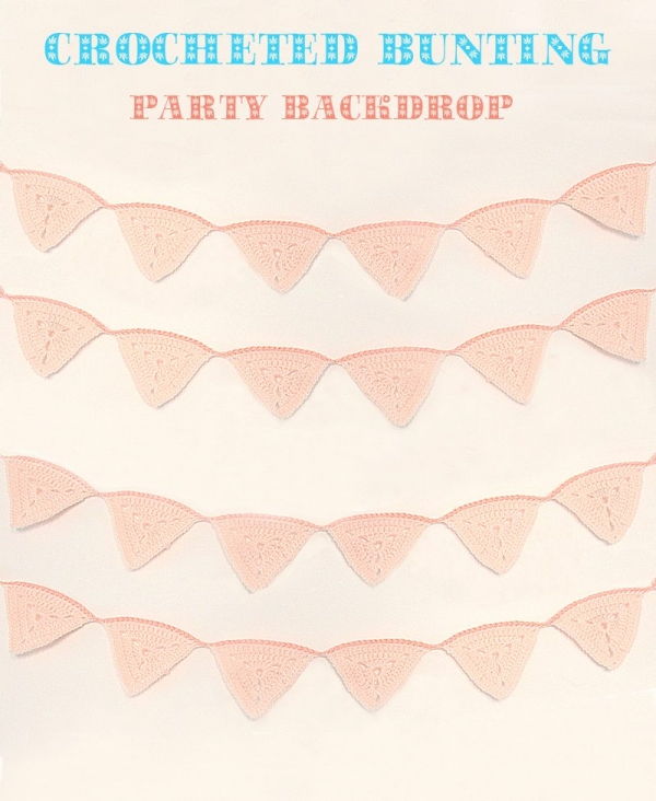 crochet bunting pattern 600x732 Link Love for Best Crochet Patterns, Ideas and News