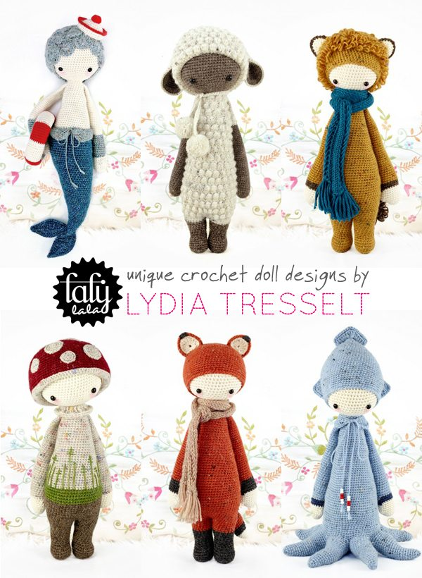 crochet dolls Link Love for Best Crochet Patterns, Ideas and News