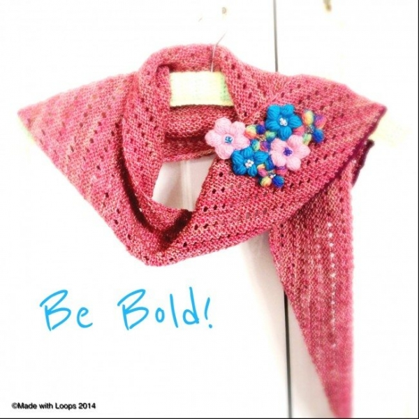 crochet flower corsage 600x600 Link Love for Best Crochet Patterns, Ideas and News
