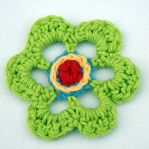 Crochet scarf flower pattern on Pinterest | 21 Pins
