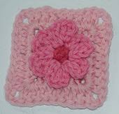 crochet flower square Link Love for Best Crochet Patterns, Ideas and News